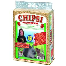 CHIPSI STRAWBERRY - Streu mit Erdbeerduft - 60 l