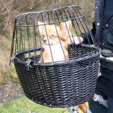 Hunde Fahrradkorb mit Gitter 49,5 x 35 x 26 cm