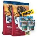 Happy Dog Supreme Africa 2 x 12,5 kg + GESCHENK