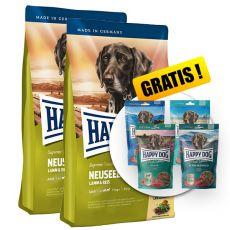 Happy Dog Supreme Neuseeland 2 x 12,5kg + GESCHENK