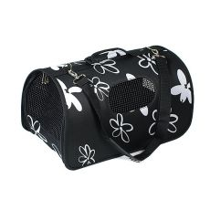 Transportbox für Hunde und Katzen - schwarz, 51 x 26 x 29 cm