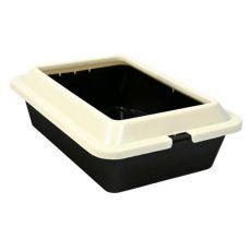 Toilette für Katze - braun beige, 50 × 38 × 14 cm
