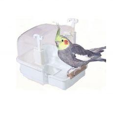 Badehaus für Vögel RIO 2 S, Weiß- 15 x 19 x 15 cm