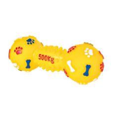 Hundespielzeug - Hantel aus Vinyl, 19 cm