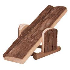 Hutsche für Nager  - Holz, 22 x 7 x 8 cm