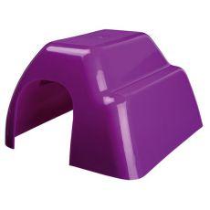 Häuschen für Nager - Kunststoff, farbiges, 14 x 9 x 16 cm
