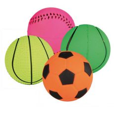 Hundeball - Sportball aus Gummi, 4,5 cm