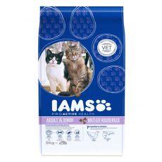 IAMS Multi-Cat mit Hühnerfleisch und Lachs 3kg