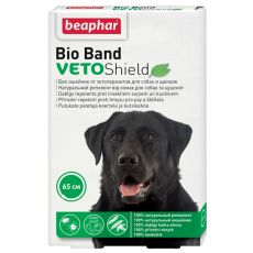 Bio Band Ungeziefer Halsband für Hunde - 65 cm