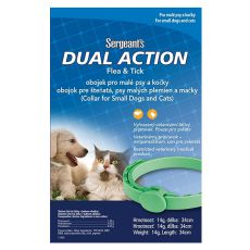 Antiparasit Halsband für Hunde und Katzen Sergeant´s - 34cm