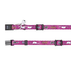 Halsband für Katzen, mit Motiv, violet - 15 - 20 cm