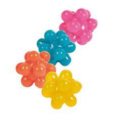 Bällchen für Katze - Gummi, 4 Stücke