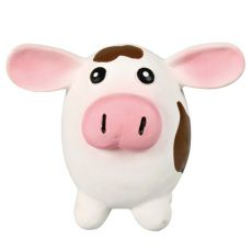 Spielzeug für Hunde - Latex Kuh, 9x11cm