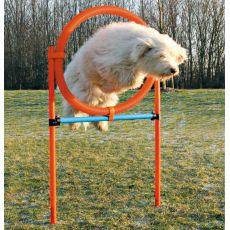 Agility Hürde für Hunde, Ring 115x65cm