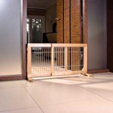Absperrgitter für Hunde verstellbar 63-108x50x31cm