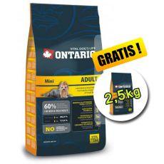 Ontario Adult Mini 13 kg + 2,5 kg GRATIS