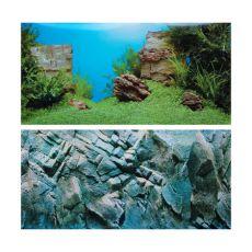 Aquarium Hintergrund AMANO/ROCK XL - 150x60cm