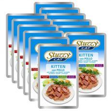 Stuzzy cat Stückchen für Katzenbabys - Hühnerfleisch, 12 x 100 g