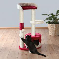 Kratzeisen für Katzen PILAR - beige rot, 100 cm