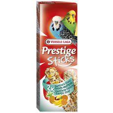 Stangen für Zwergpapageien PRESTIGE STICKS 2 Stk. - exotische Früchte, 60g