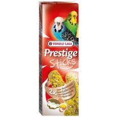 Stangen für Zwergpapageien PRESTIGE STICKS 2 Stk. - Austern und Ei, 60g