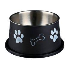 Napf für Hunde mit langen Ohren, schwarz - 0,9 L