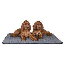 Thermo Liegedecke für Hunde, grau - 90x70cm