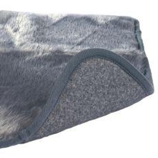 Thermodecke für Hunde in grauer Farbe  - 100x75cm