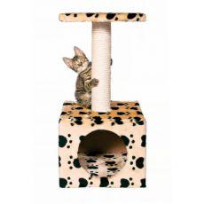 Kratzeisen Zamora mit Kuschelhöhe für Katzen - 31x31x61cm