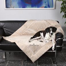 Hundedecke King of Dogs, beidseitig - 100x70cm