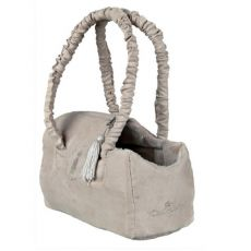 King of Dogs Tasche beige, 25x12x17cm