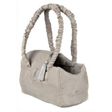 King of Dogs Tasche beige, 14x20x30cm