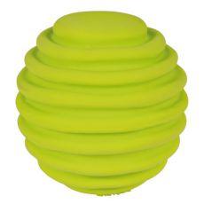 Hundespielzeug aus Latex - Ball gerillt, 6 cm