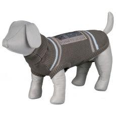 Rollkragenpullover für Hunde mit Rückenstickerei - XS / 34cm
