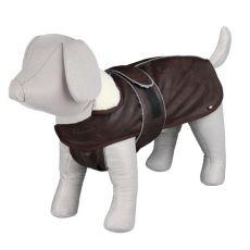 Hundemantel mit Kragen L / 55-75cm