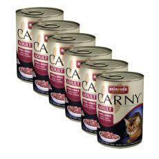 Futter CARNY ADULT mit Rinderherzen - 6 x 400 g