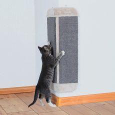 Kratzeisen für Katzen aus dem Sisal und Plüsch, eckig - 32x60cm