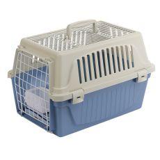 Ferplast ATLAS 10 OPEN Transportbox für Hunde oder Katzen mit Kissen