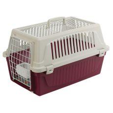 Ferplast ATLAS 20 OPEN Transportbox für Hunde oder Katzen mit Kissen