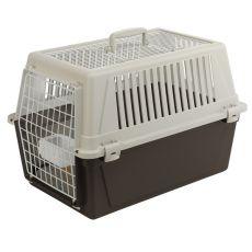 Ferplast ATLAS 30 OPEN Transportbox für Hunde oder Katzen mit Kissen