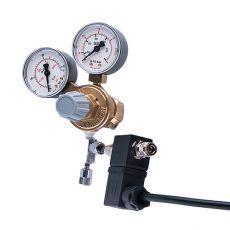 """Druckminderer CO2 - G3/4"""" +Nadelventil+emg.Ventil, (2x Manometer)"""