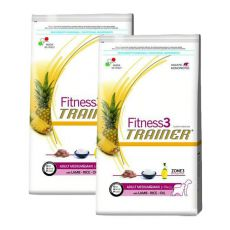 Trainer Fitness3 Adult MEDIUM MAXI - Lamm mit Reis 2 x 12,5 kg