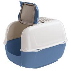 Toilette für Katzen PRIMA CABRIO blau - 44x40x36,5cm