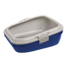 Toilette für Katzen BIRBA blau - 55,5x45,5x22,5cm