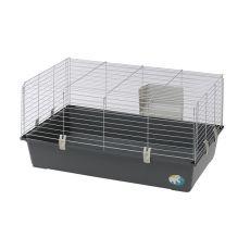 Käfig für Nager RABBIT 100 grau - ohne Zubehör