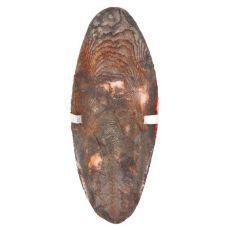 Sepiaschale mit Halter für Vögel - Schokoladengeschmack, 12 cm