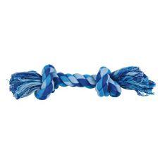 Baumwolltau mit Knoten - Spielzeug für Hunde, 22 cm