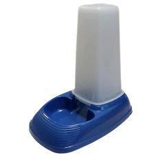 Wasserautomat und Futterautomat KUFRA 1 - blau, 600 ml