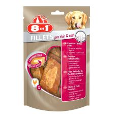Filet 8 in 1 PRO SKIN AND COAT für Hunde - 80g