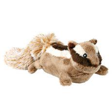 Hundespielzeug aus Plüsch - Eichhörnchen, 23 cm